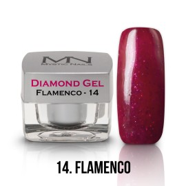 Diamond Gel - no.14. - Flamenco - 4g