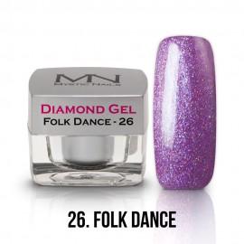 Diamond Gel - no.26. - Folk Dance - 4g