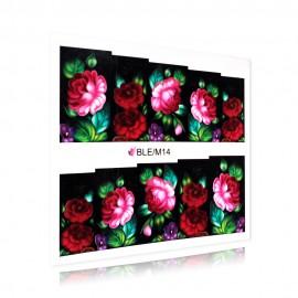 Flower pattern sticker - BLE/M14