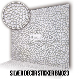 Silver Decor Sticker BM023