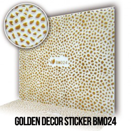 Golden Decor Sticker BM024