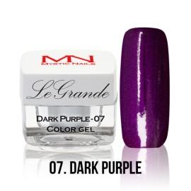 LeGrande Color Gel - no.07. - Dark Purple - 4 g