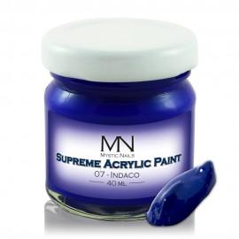 Supreme Akrilna boja - no.07. Indaco - 40 ml