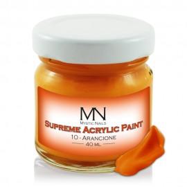 Supreme Akrilna boja - no.10. Arancione - 40 ml
