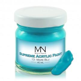Supreme Akrilna boja - no.13. Mare Blu - 40 ml