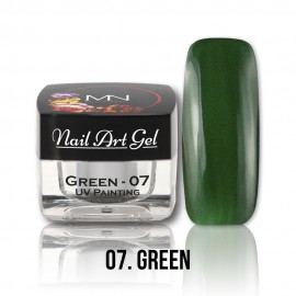 UV Painting Nail Art Gel - 07 - Green - 4g