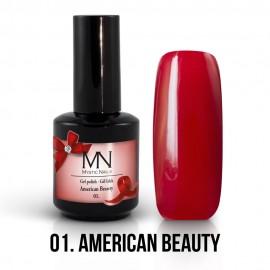 Gel Polish no.01. - American Beauty 12 ml