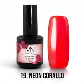 Gel Polish no.19. - Neon Corallo 12 ml