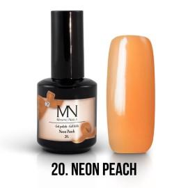 Gel Lak 20. - Neon Peach 12 ml