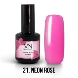 Gel Lak 21. - Neon Rose 12 ml