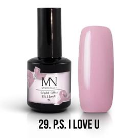 Gel Polish no.29. - P.S. I love U 12 ml
