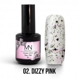 Gel Polish Dizzy no.02. - Dizzy Pink 12 ml