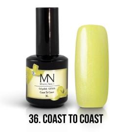 Gel Polish no.36. - Coast to Coast 12 ml