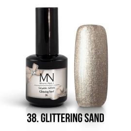 Gel Polish no.38. - Glittering Sand 12 ml