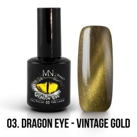 Gel Lak Dragon Eye Effect 03 - Vintage Gold 12ml