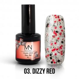 Gel Polish Dizzy no.03. - Dizzy Red 12 ml