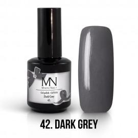 Gel Polish no.42. - Dark Grey 12 ml
