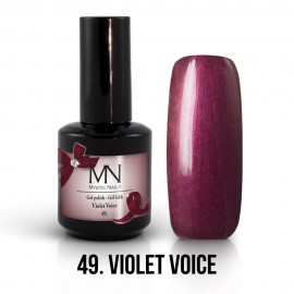 Gel Polish no.49. - Violet Voice 12 ml
