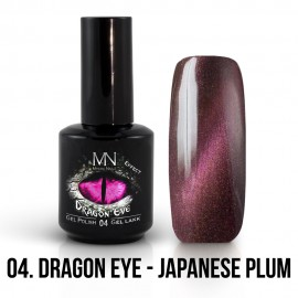 Gel Lak Dragon Eye Effect 04 - Japanese Plum 12ml
