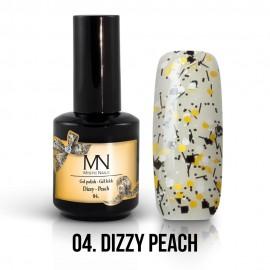 Gel Polish Dizzy no.04. - Dizzy Peach 12 ml