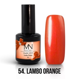 Gel Polish no.54. - Lambo Orange 12 ml