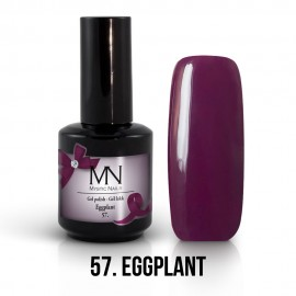 Gel Polish no.57. - Eggplant 12 ml