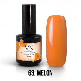 Gel Polish no.63. - Melon 12 ml