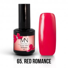 Gel Polish no.65. - Red Romance 12 ml