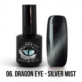 Gel Lak Dragon Eye Effect 06 - Silver Mist 12ml
