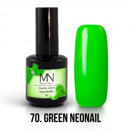 Gel Polish no.70. - Green NeoNail 8 ml