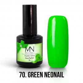 Gel Polish no.70. - Green NeoNail 12 ml