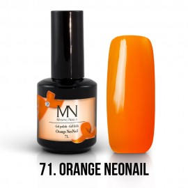 Gel Polish no.71. - Orange NeoNail 12 ml