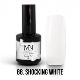Gel Polish no.88. -  Shocking White 12ml