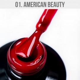 Gel Lak 01. - American Beauty 12 ml