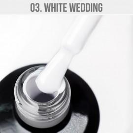Gel Lak 03. - White Wedding 12 ml
