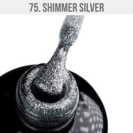 Gel Lak 75. - Shimmer Silver 12 ml