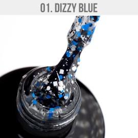 Gel Lak Dizzy 01. - Dizzy Blue 12 ml