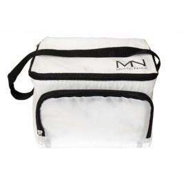 Hladnjak torba sa logotipom MN - bela