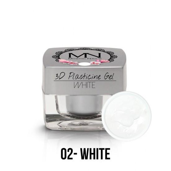 3D Plastelin Gel - 02 - White - 3,5g