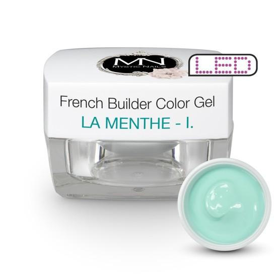 French Builder Color Gel - I. - la Menthe -15g