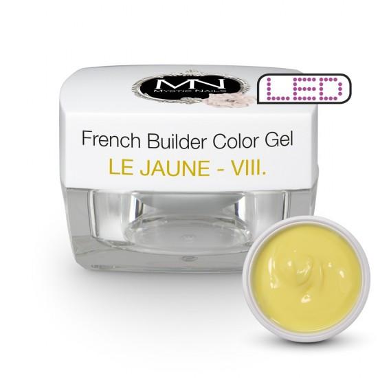 French Builder Color Gel - VIII. - le Jaune -15g