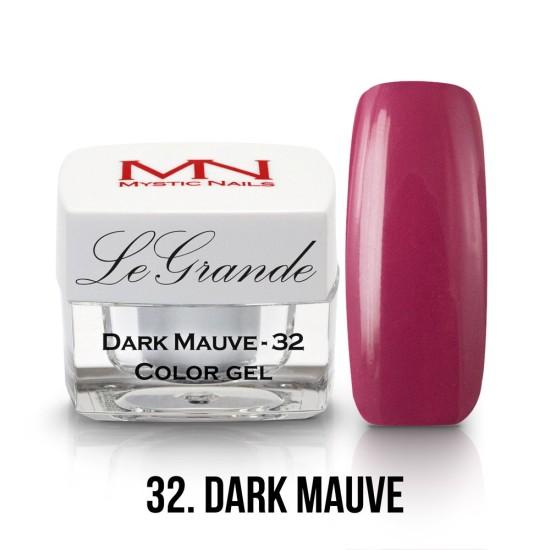 LeGrande Color Gel - no.32. - Dark Mauve - 4g