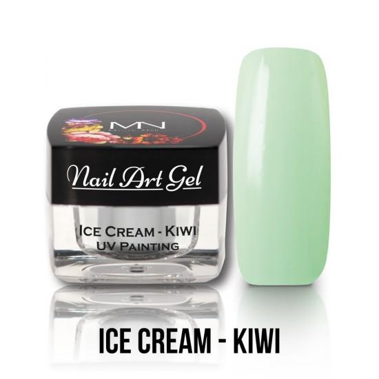 UV Painting Nail Art Gel - Ice Cream - Kiwi - 4g