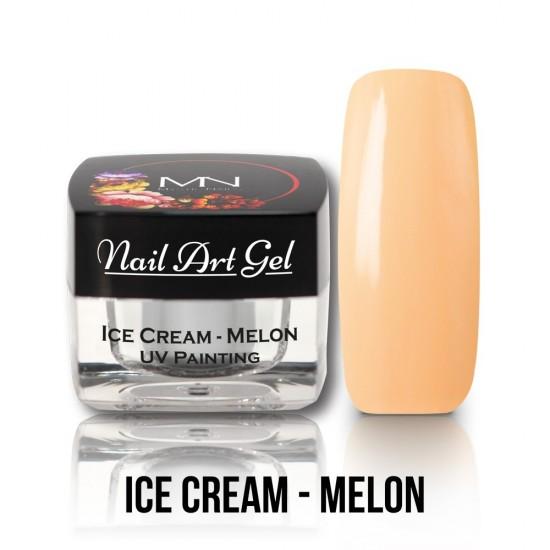 UV Painting Nail Art Gel - Ice Cream - Melon - 4g