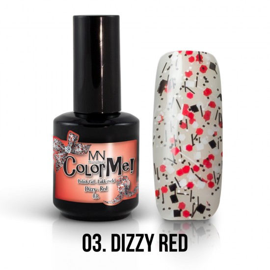 ColorMe! Dizzy no.03. - Dizzy Red 12 ml