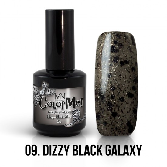 ColorMe! Dizzy no.09. - Dizzy Black Galaxy 12 ml