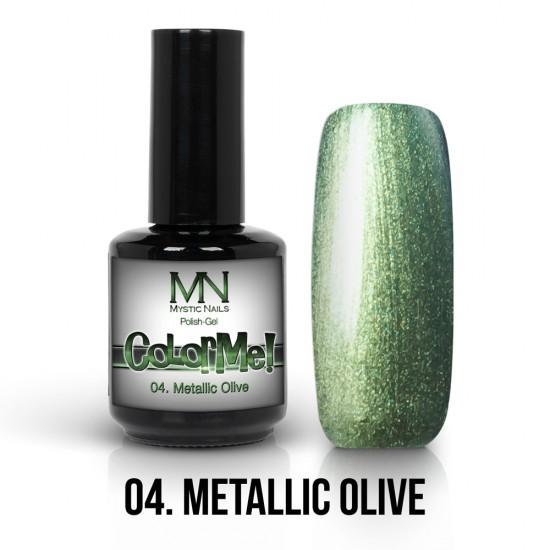 ColorMe! Metallic no.04. - Metallic Olive 12 ml
