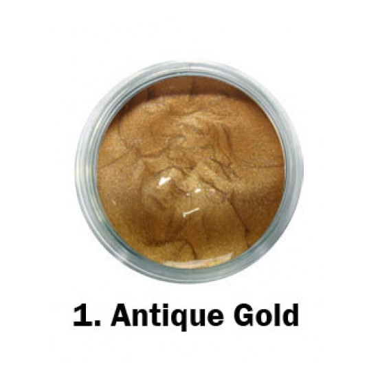Akrilna boja - br.01. - Antique Gold - Metalik boja