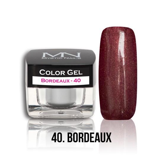 Color Gel - no.40. - Bordeaux