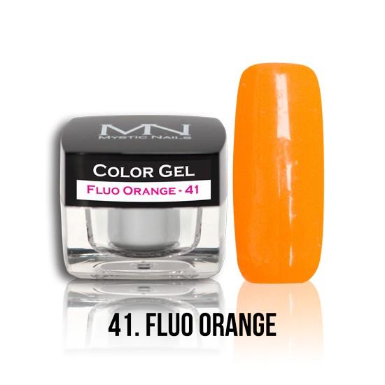 Color Gel - no.41. - Fluo Orange